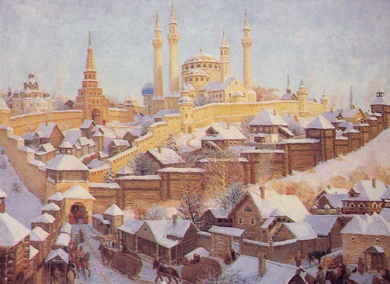 О московском царстве часть 7 столица